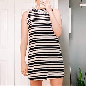 NWOT Garage Black and White Stripe Dress